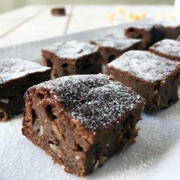 Sugar Free Gluten Free Nutty Chocolate Mini-cakes